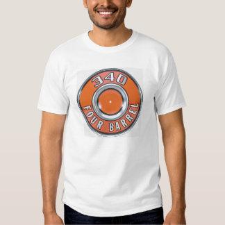 Mopar 340 Four Barrel Air Cleaner Lid T Shirts