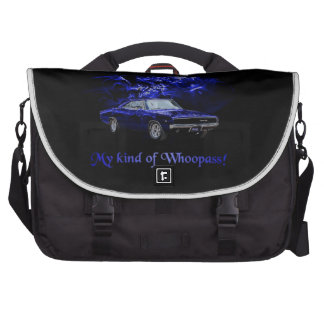 Mopar 68 Charger - Ready to Whoopass Computer Bag