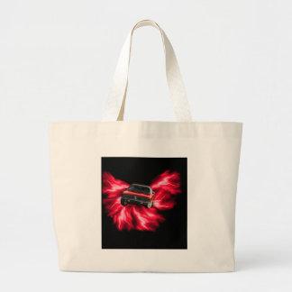 Mopar 69 Charger on red lightning Bags
