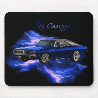 Mopar:  '69 Dodge Charger Mouse Pad