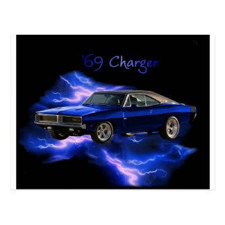 Mopar:  '69 Dodge Charger Postcard