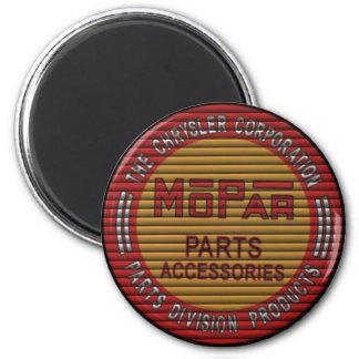 mopar blinds retro garage sign 2 inch round magnet