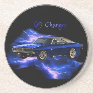 Mopar:  'Cargador de 69 Dodge Posavasos Personalizados