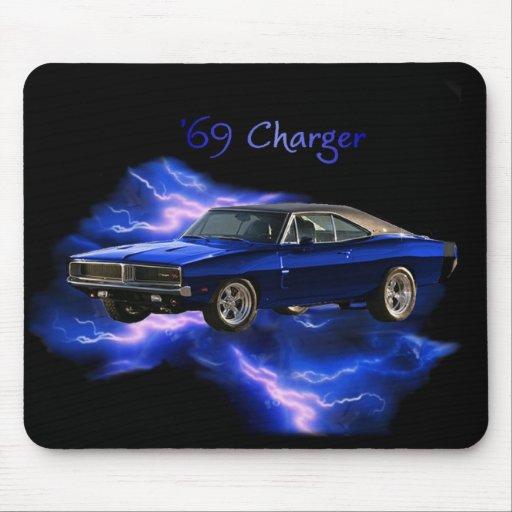 Mopar:  'Cargador de 69 Dodge Tapete De Raton