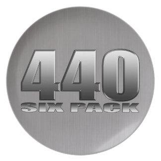Mopar Dodge 440 seis paquetes Plato