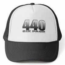 Mopar Dodge 440 Six Pack Trucker Hat