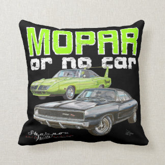 MOPAR or No Car Pillow