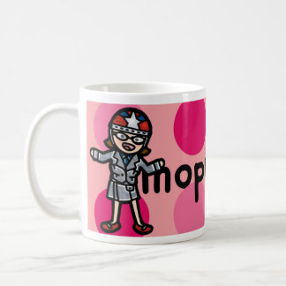 moped mama mug. coffee mug