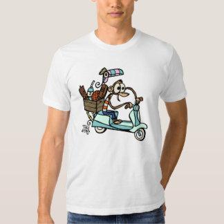 Moped Monkey Beachcomber Vacation! T-Shirt