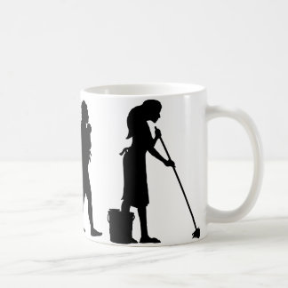 Mopping The Floor Coffee Mug