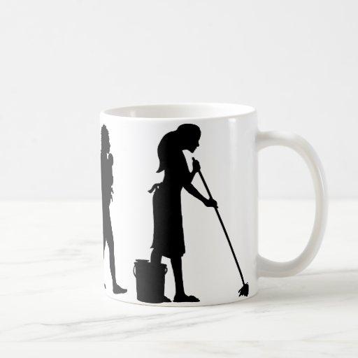 Mopping The Floor Mug