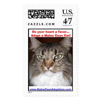 (Moprhy) haga su corazón que un favor… adopta un Timbre Postal