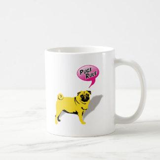 Mops Fidel Coffee Mug