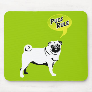 Mops Fidel Mouse Pad