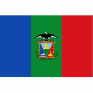 Moquegua, bandera de Perú Fotoescultura Vertical