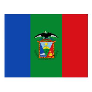 Moquegua, bandera de Perú Postales