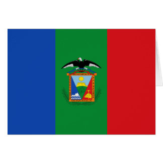 Moquegua, bandera de Perú Tarjeta De Felicitación