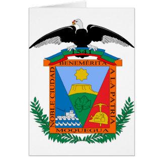 Moquegua, Perú Tarjeta De Felicitación