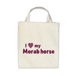Morab horse tote bags
