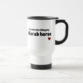 Morab horse mug