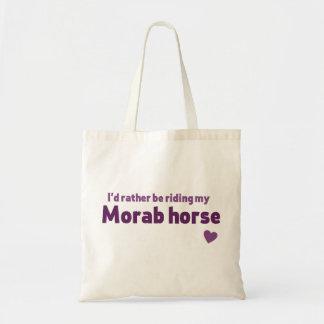 Morab horse tote bag