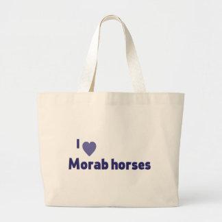 Morab horses bags
