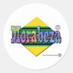 Morabeza Classic Round Sticker
