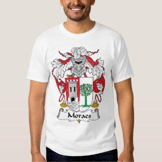 Moraes Family Crest T Shirt