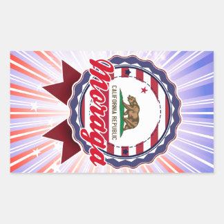 Moraga CA Stickers