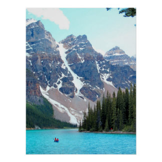 Moraine del lago impresiones