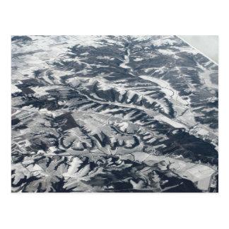 Moraine glacial postal