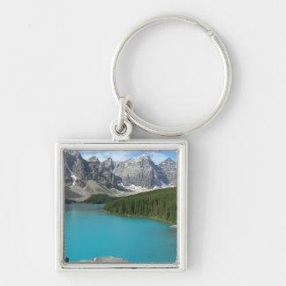 Moraine Lake 1 Keychain