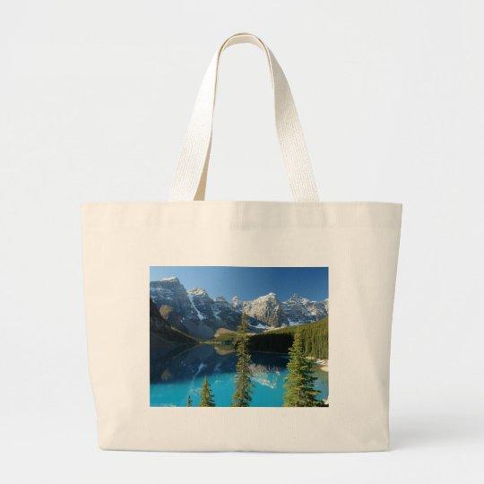 Moraine Lake 3 Large Tote Bag