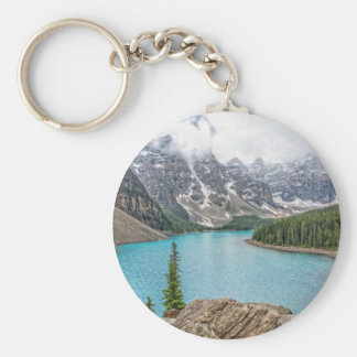 Moraine Lake After the Storm Keychain