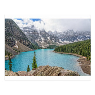Moraine Lake After the Storm Postcard