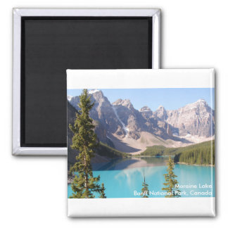Moraine Lake/Banff National Park, Canada Magnet