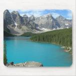 Moraine Lake Banff National Park Mouse Mats