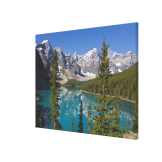 Moraine Lake, Canadian Rockies, Alberta, Canada 2 Canvas Print