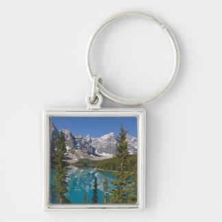 Moraine Lake, Canadian Rockies, Alberta, Canada 2 Keychain