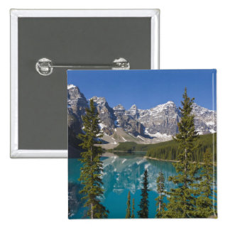 Moraine Lake, Canadian Rockies, Alberta, Canada 2 Pinback Button
