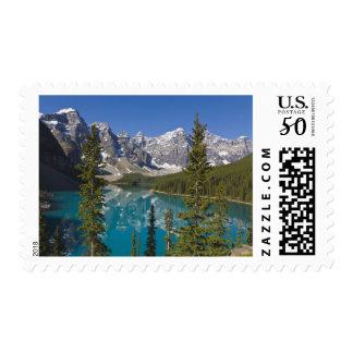 Moraine Lake, Canadian Rockies, Alberta, Canada 2 Postage