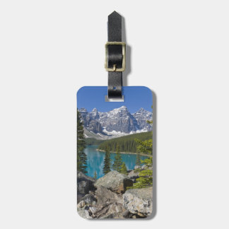 Moraine Lake, Canadian Rockies, Alberta, Canada Bag Tag