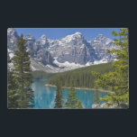 "Moraine Lake, Canadian Rockies, Alberta, Canada Placemat<br><div class=""desc"">COPYRIGHT Paul Thompson / DanitaDelimont.com 