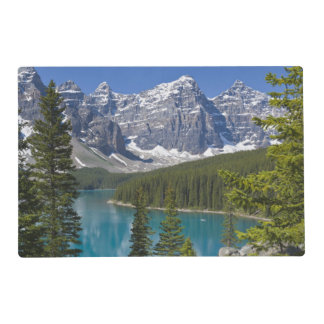 Moraine Lake, Canadian Rockies, Alberta, Canada Placemat