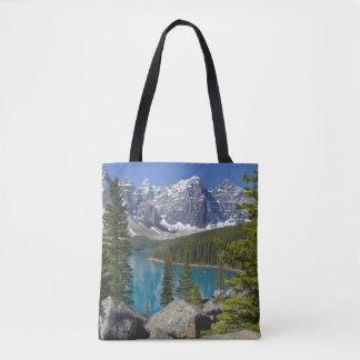 Moraine Lake, Canadian Rockies, Alberta, Canada Tote Bag