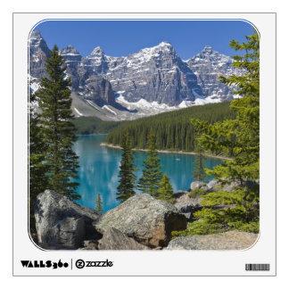 Moraine Lake, Canadian Rockies, Alberta, Canada Room Stickers