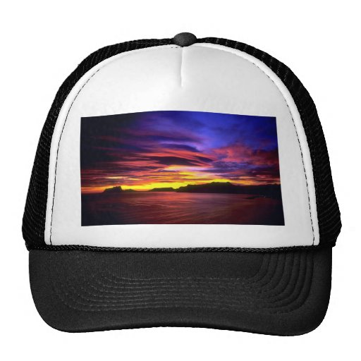 Moraira Harbor, Costa Blanca, Spain Hat