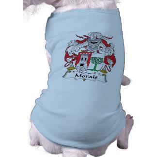 Morais Family Crest Pet Tee