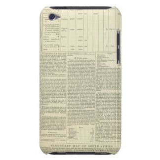 Moral and Statistical Chart of the Globe continued Case-Mate iPod Touch Case