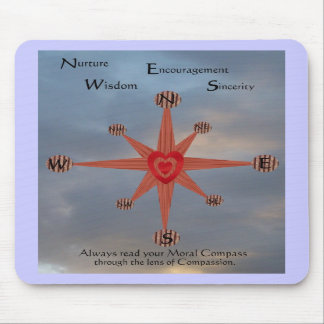 Moral Compass 2 Mouse Pads